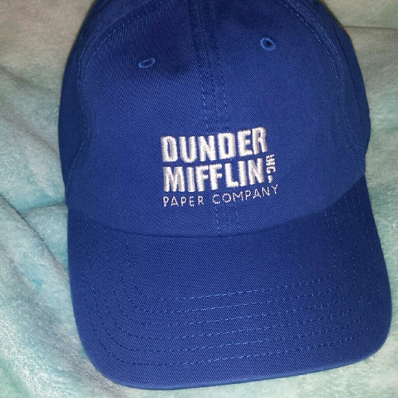Hot Topic Accessories - The Office Dunder Mifflin Dad Hat cdd6e0b39ac
